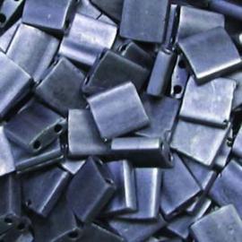 TL5-2001 Miyuki Tila 5x5mm - 5 gram - kleur Gunmetal Matte