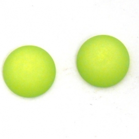 polariscabochon 12 mm - kleur fel groen (M71426)
