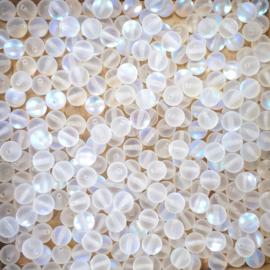 edelsteen kraal 6mm- Maansteen (BJ6-001) 10 stuks