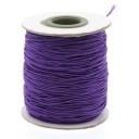stoffen elastiek 1mm dik lengte 2 meter - kleur paars (AB84855)