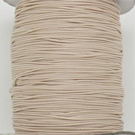 waxkoord 0,5 mm  1 meter kleur beige (no 117)