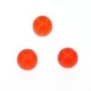 glaskraal rond 5mm oranje