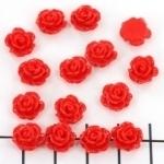 kraal roosje 9mm rood (BJ-21609-10)