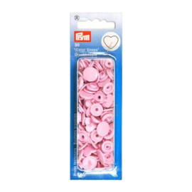 Prym T5 kam snaps hart zacht roze (318) 30 stuks