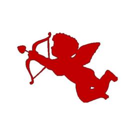 veloursmotief Cupido