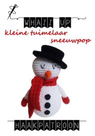 WHAZZ UP tuimelaar sneeuwpop klein