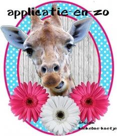 SUPER full color applicatie giraffe