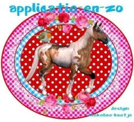 SUPER full color applicatie paard
