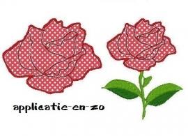 roos met én zonder blad en steel