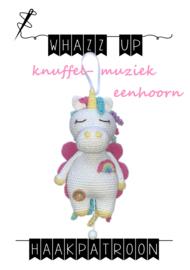 WHAZZ UP haakpatroon knuffel/ muziek eenhoorn (PDF)