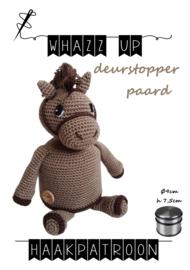 WHAZZ UP haakpatroon deurstopper paard (PDF)