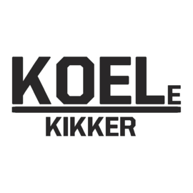veloursmotief koele kikker (in zwart of wit)