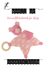 WHAZZ UP haakpatroon knuffeldoekje big