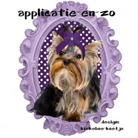 SUPER full color applicatie Yorkshire Terrier