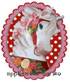 SUPER full color applicatie carousel paard