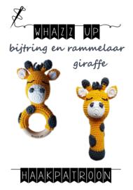 WHAZZ UP haakpatronen bijtring en rammelaar giraffe (PDF)