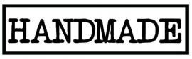 labels handmade (3 stuks opstrijkbaar)