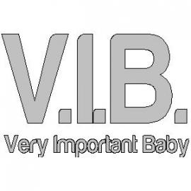 veloursmotief V.I.B.