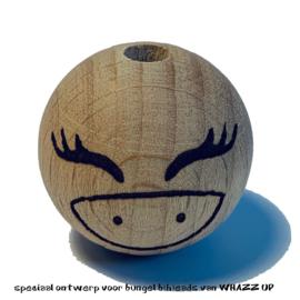 WHAZZ UP houten kraal eenhoorn 25 mm