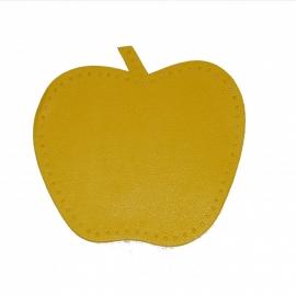 kniestukken appel geel (2 stuks)