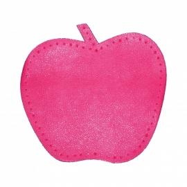 kniestukken appel fuchsia roze (2 stuks)