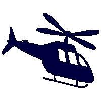 veloursmotief helikopter