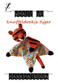 WHAZZ UP haakpatroon knuffeldoekje tijger
