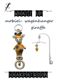 WHAZZ UP haakpatroon giraffe voor mobiel/ box/ wagenhanger