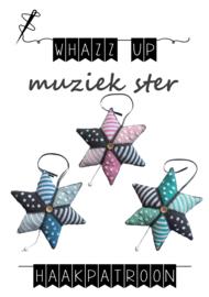 WHAZZ UP haakpakket muziekdoosje ster