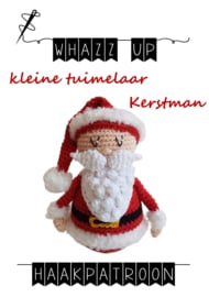 WHAZZ UP haakpatroon tuimelaar Kerstman klein