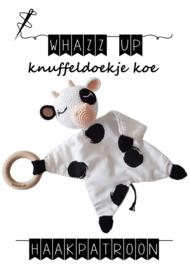 WHAZZ UP haakpakket knuffeldoekje koe