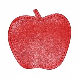 kniestukken appel rood (2 stuks)