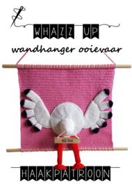 WHAZZ UP haakpatroon wandhanger ooievaar (PDF)