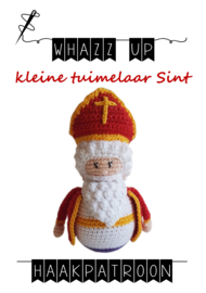 WHAZZ UP haakpatroon tuimelaar Sint klein
