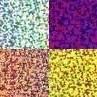 flexfolie glitter 4 kleuren 15 x 20 cm