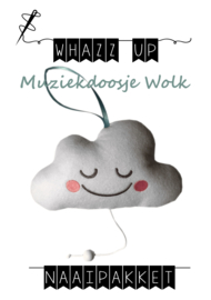 naaipakket muziekdoosje wolk
