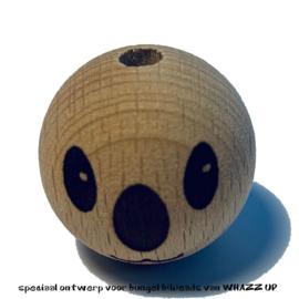 WHAZZ UP houten kraal koala 25 mm