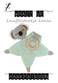 WHAZZ UP haakpakket knuffeldoekje koala