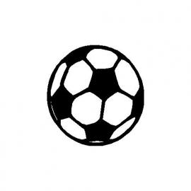 veloursmotief voetbal