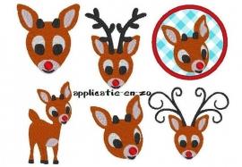 serie borduurmachine patronen Rudolph