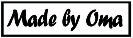 labels made by oma (3 stuks opstrijkbaar)