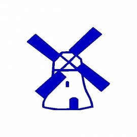 veloursmotief molen