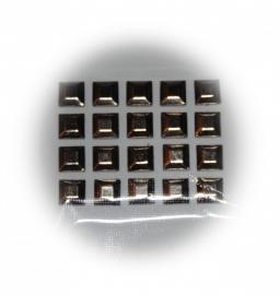 20 zilver kleurige studs