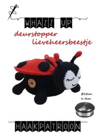 WHAZZ UP haakpatroon deurstopper lieveheersbeestje (PDF)