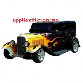 SUPER full color applicatie hotrod