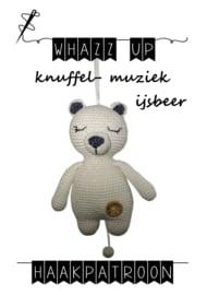 WHAZZ UP haakpatroon knuffel/ muziek ijsbeer (PDF)