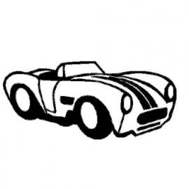 veloursmotief cabrio