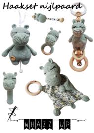 WHAZZ UP haakboekje (set) nijlpaard
