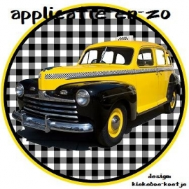 SUPER full color applicatie yellow cab
