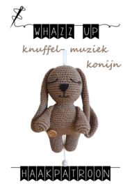 WHAZZ UP haakpatroon knuffel/ muziek konijn (PDF)
